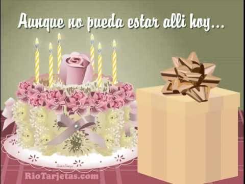 Tarjetas De Cumpleaños Gratis Feliz Cumpleaños Animadas Youtube
