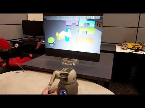 Virtual Training: Learning Transfer of Assembly Tasks