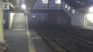 廃止前の特急有明4号 長洲駅入線