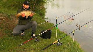 Эта Поклёвка ШОКИРУЕТ рыбаков!!! Рыбалка на карпа! Кормаки от Михалыча. Бойлы на Карпа