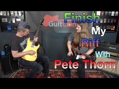 Finish My Riff With Pete Thorn + Talking classic riffs
