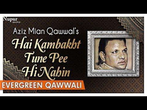 Hai Kambakht Tune Pee Hi Nahin - Aziz Mian Qawwal | Best Sufi Qawwali Songs | Nupur Audio