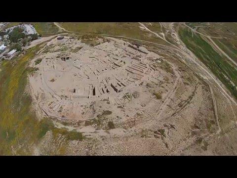 Tel Beer Sheba Aerial (Biblewalks.com)