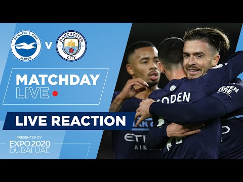 FULL-TIME! | BRIGHTON 1-4 MAN CITY | PREMIER LEAGUE | MATCHDAY LIVE SHOW