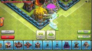 BEST Town Hall Level 4 BASE Seed art SPEED BUILD + Defense Strategy Best Clash of Clans 2015