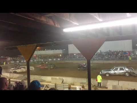 Demolition Derby at The 2017 Highland County Fair (Part # 4)
