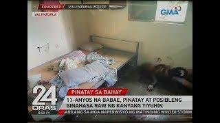 11-anyos na babae, pinatay at posibleng ginahasa raw ng kanyang tiyuhin