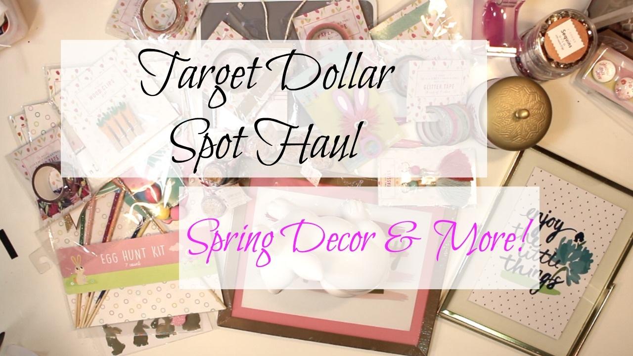 Target dollar spot haul 2017 easter decor more hip for Decor n more