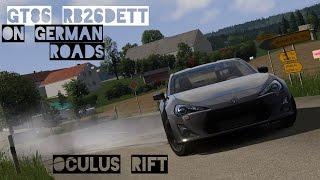 VR [Oculus Rift] GT86 RB26DETT Sunday Drive on German Roads | Assetto Corsa Gameplay