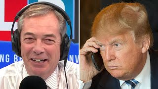 Donald Trump backs Boris Johnson and Nigel Farage for Brexit election pact