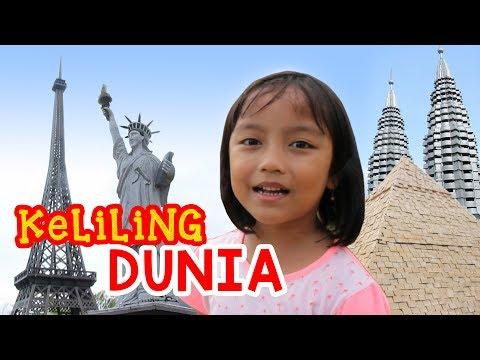 Pixel KELILING DUNIA di Small World | Taman Miniatur Dunia di Baturaden Purwokerto