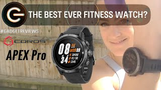 Best EVER Fitness Watch? The Coros Apex Pro Review