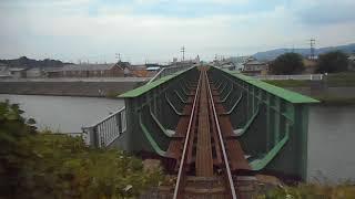 天竜浜名湖鉄道、気賀ー岡地バックビュー