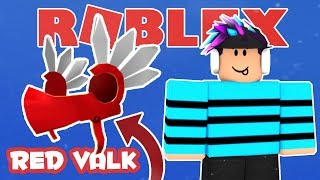HOW TO GET THE REDVALK | Roblox Red Valkyrie Hat - Series 5 Toy Bonus Chaser Item
