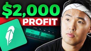 How I made $2000 on Robinhood - Stocks For Beginners