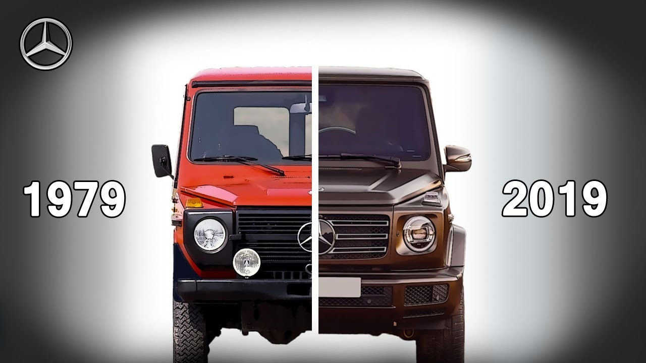 Mercedes Benz G Class Evolution 1979 2019 New Vs Old