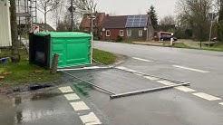 Sturmtief Sabine in Emden und Ostfriesland