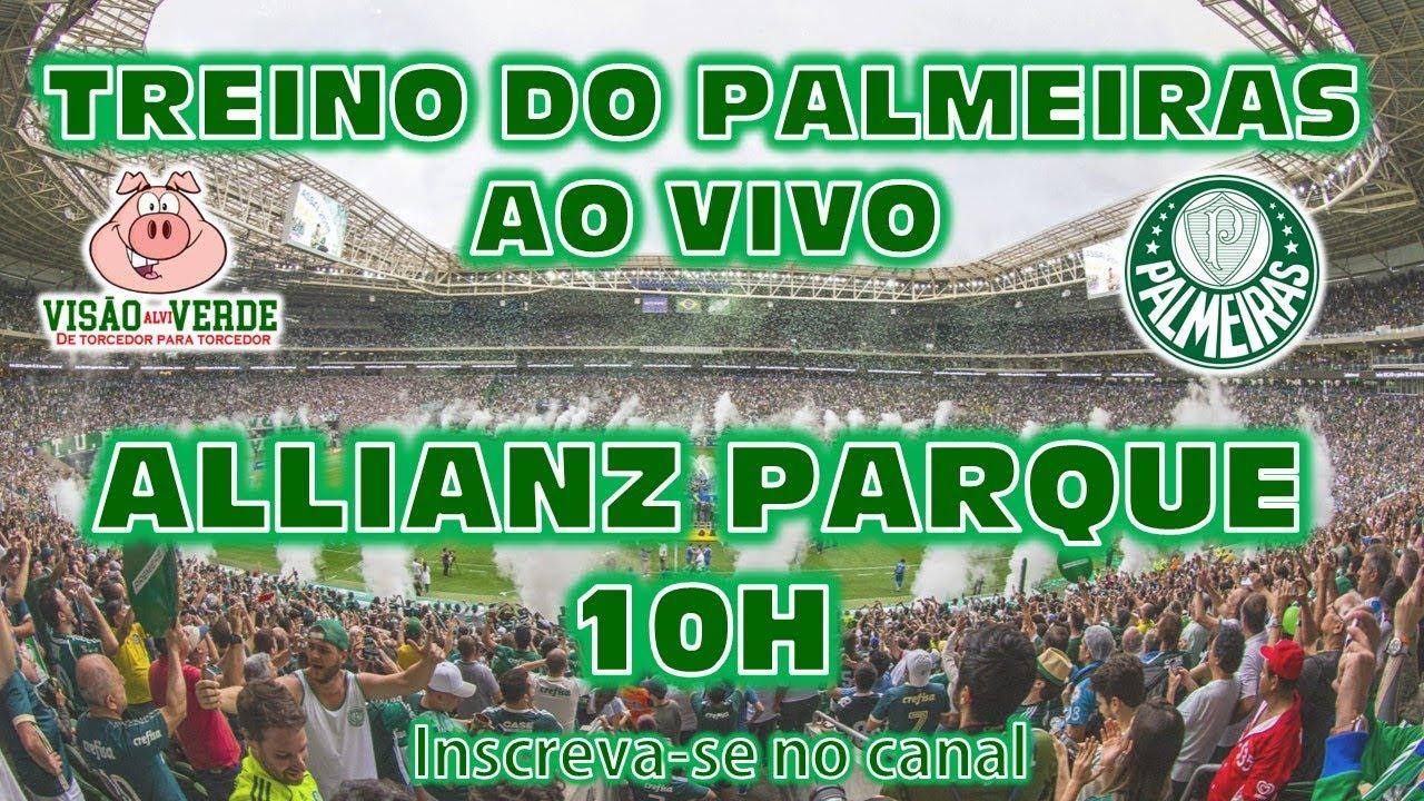 VIS U00c3O ALVIVERDE TREINO DO PALMEIRAS AO VIVO DIRETO DO