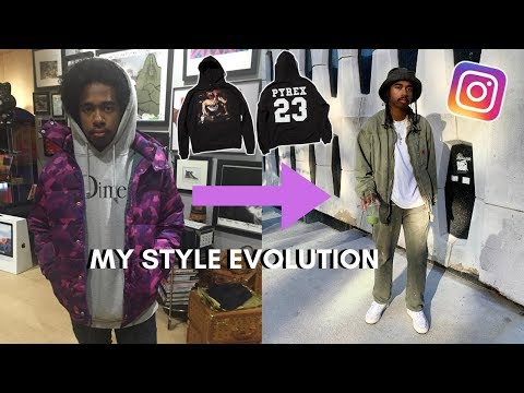 Reacting To My Old Outfits & My Style Evolution