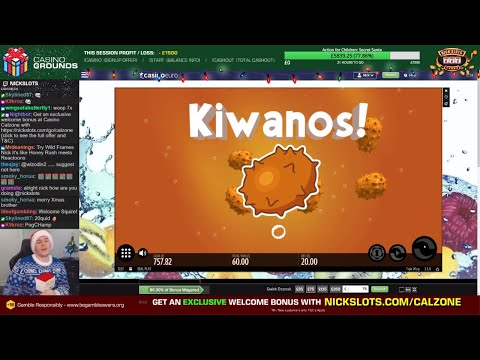 Casino Slots Live - 20/12/19 *LAST STREAM OF 2019 + CHARITY DONATION!!!*