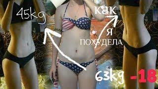 КАК Я ПОХУДЕЛА   БУЛИМИЯ   ГОЛОДАНИЕ   РПП   -18 кг