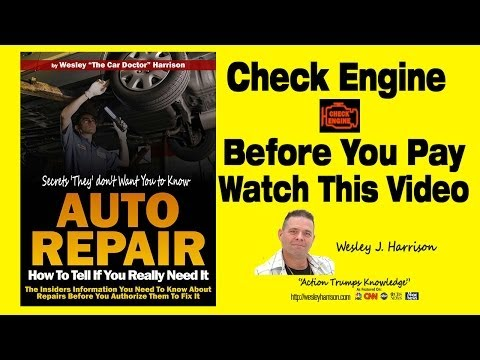 Check Engine Light | Service Engine Soon | Computer | Diagnostic | Scan | Auto Repair | Kansas City