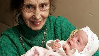 Ela ficou grávida aos 70 ANOS! As mães mais velhas do mundo