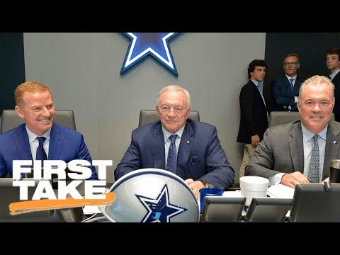 First Take Reacts To Jerry Jones Comments On Ezekiel Elliott | First Take | ESPN