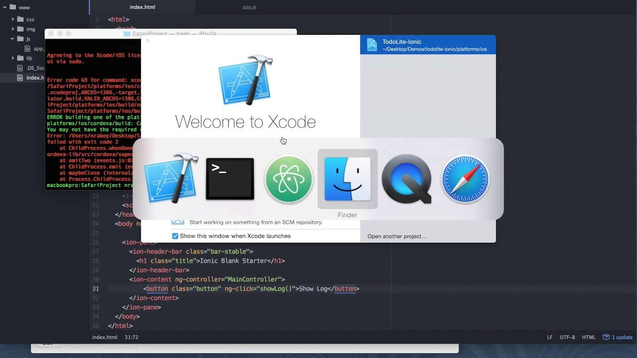 Debugging Your Apache Cordova iOS App With Safari