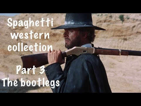My Spaghetti western collection Part 3, The bootleg dvds