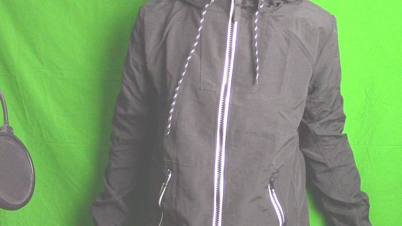 Bought A Black/White Windbreaker Jacket At Cotton On :) - YouTube