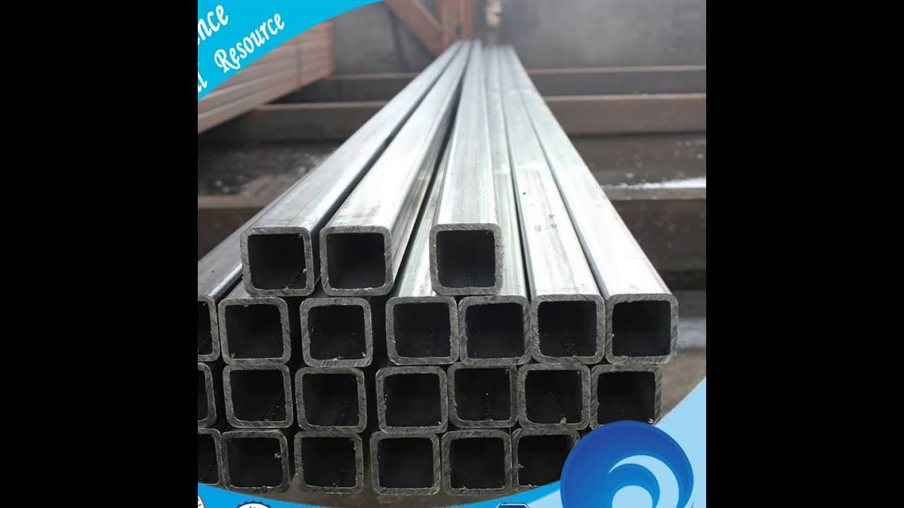 MILD STEEL WELDED SQUARE PIPE,BLACK PAINT SQUARE ERW