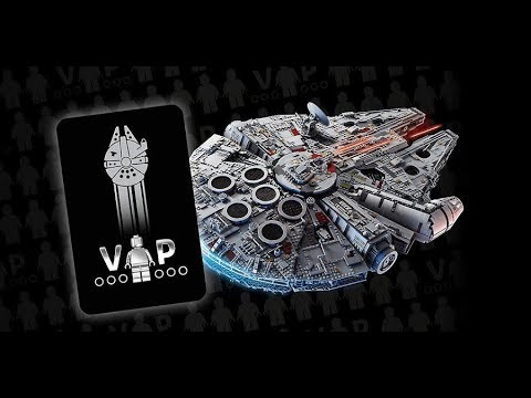 LEGO Star Wars Millennium Falcon LIVE BUILD! + Unboxing Largest LEGO Set EVER! Built from Bricks