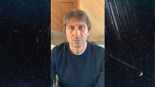 ANTONIO CONTE | A MESSAGE FROM INTER COACH ABOUT THE COVID-19 EMERGENCY | #TogetherAsATeam 🙏🏻⚫🔵