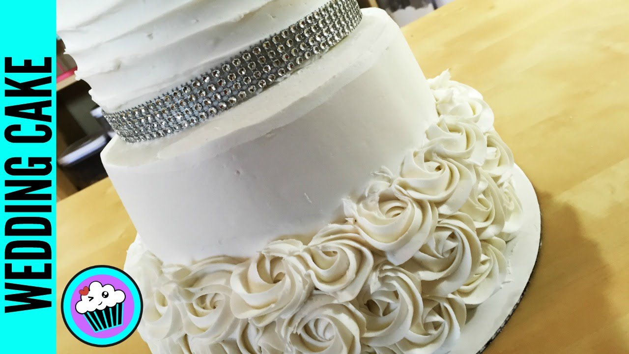 How to make a Wedding Cake   Pinch of Luck   YouTube