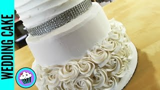 How to make a Wedding Cake | Pinch of Luck
