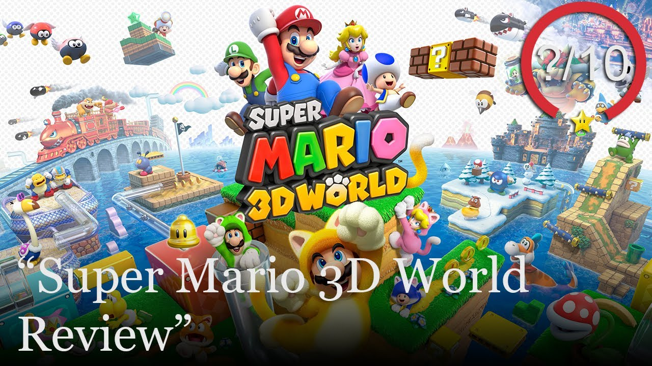 Super Mario 3D World Review [Switch & Wii U] (Video Game Video Review)