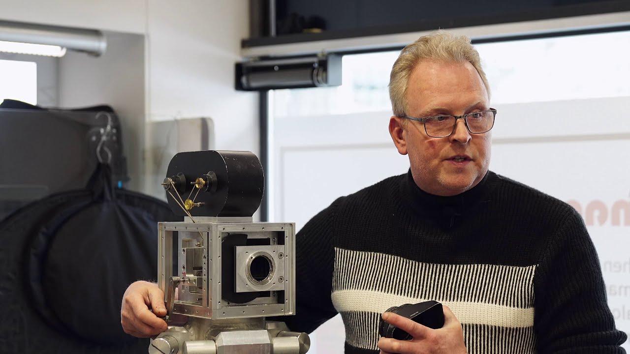 Eddies selbstgebaute analoge Filmkamera (4k) | HausamannTV