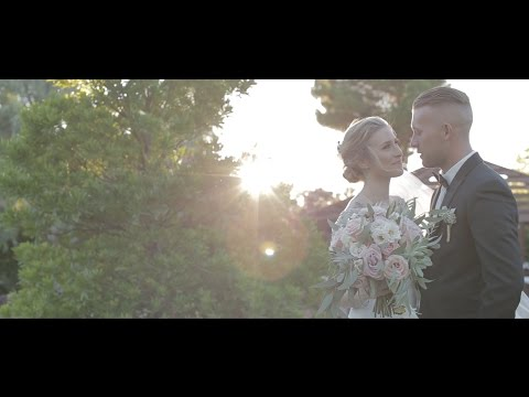 THE WEDDING OF COURTNEY + TAYLOR / THE GROVE