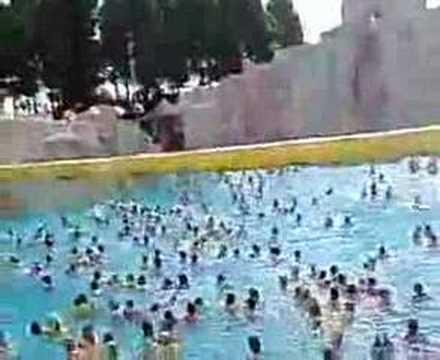 Wave Pool Taiwan Mala Bay Water Park Youtube