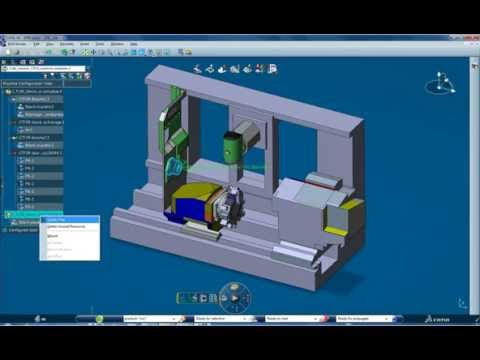 CAD-Terv Kft. - Virtual machining environment in CATIA