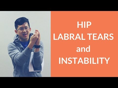 Labral tears and hip joint stability
