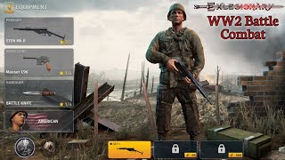 World War 2 Battle Combat Gameplay 🔥 Max Graphics Settings 120fps - New Android&Ios WW2 Game screenshot 1
