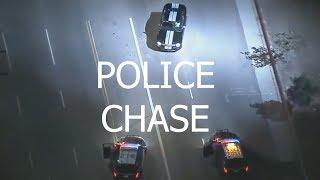 LA Police Police Chase Ford Mustang Nov 2017