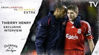 """Thierry Henry on Steven Gerrard: """"One of the best players that I've seen in my life"""""""