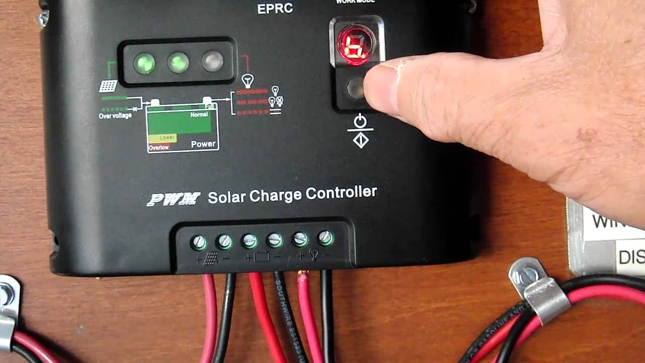 Load Control Programming Feature Of The Eprc Solar Charge