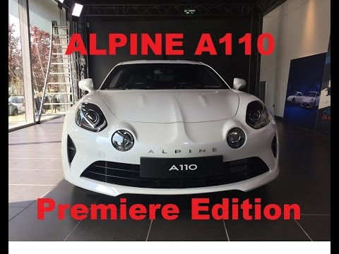 alpine a110 2017 premiere edition english review youtube. Black Bedroom Furniture Sets. Home Design Ideas