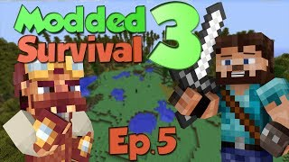 A New Age: Modded Survival 3 Ep.5 - The Canyon