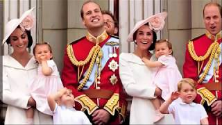 The Duchess Of Cambridge Trooping The Colour Over The Years