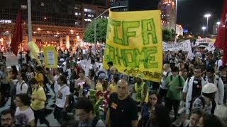 #FifaGoHome : violences au Brésil en marge des rassemblements anti-Mondial 2014